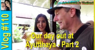 Our day out at Ayutthaya – Part 2 – Ayutthaya Floating Market