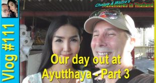 Our day out at Ayutthaya – Part 3 – Wat Phanan Choeng