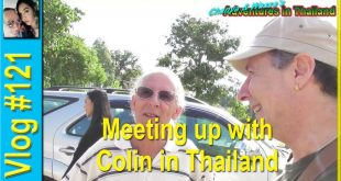 Meeting up with Colin in Thailand