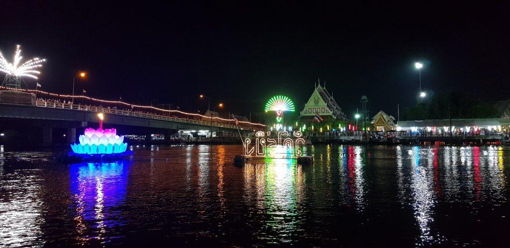 Our celebration for Loi Krathong at Wat Rai Khing