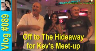 Off to The Hideaway for Kev's Meet-up
