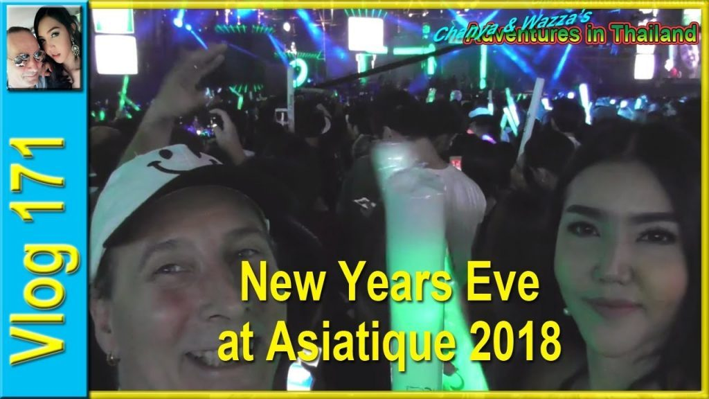 New Years Eve at Asiatique 2018