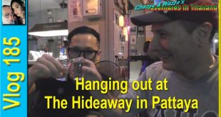 Hanging out at The Hideaway in Pattaya (ออกไปเที่ยวที่ The Hideaway ในพัทยา)