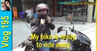 My bike is ready to ride away (จักรยานของฉันพร้อมที่จะขี่ไปแล้ว)