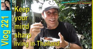 Keep your mind sharp living in Thailand (เก็บความคิดที่คมชัดในประเทศไทย)