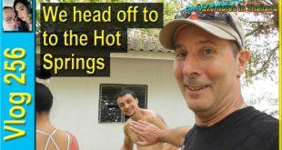 We head off to the Hot Springs (เรามุ่งหน้าไปยัง Hot Springs)