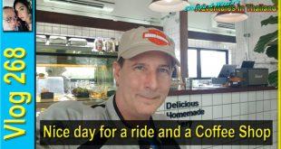 Nice day for a ride and a Coffee Shop visit (วันที่ดีสำหรับการนั่งและเยี่ยมชมร้านกาแฟ)