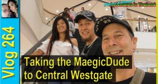 Taking the MaegicDude to Central Westgate
