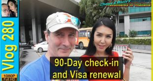 90-Day check-in and Visa renewal