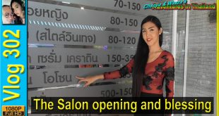 The Salon opening and blessing