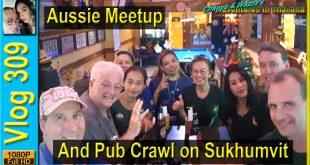 Aussie Meetup and Pub Crawl on Sukhumvit