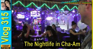 The Nightlife in Cha-Am