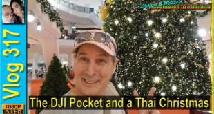 The DJI Pocket and a Thai Christmas