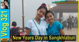 New Years Day in Sangkhlaburi