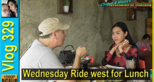 Wednesday Ride west for Lunch