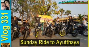 Sunday Ride to Ayutthaya