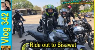 Ride out to Sisawat, Kanchanaburi