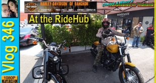 Harley Davidson test rides at the RideHub