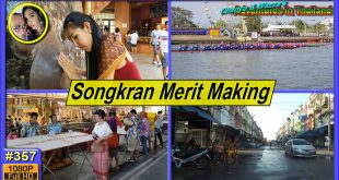 Songkran Day 2 – Making Merit