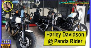 Harley test ride at Panda Rider