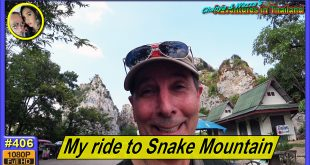 My ride to Snake Mountain