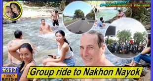 Group ride to Nakhon Nayok