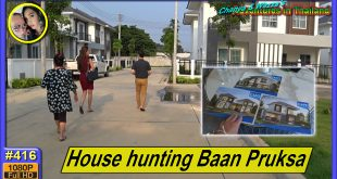 House hunting in Baan Pruksa 48
