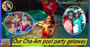 Our Cha-Am pool party getaway