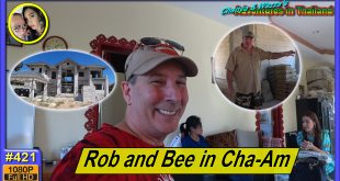 Catching up with Rob and Bee in Cha-Am