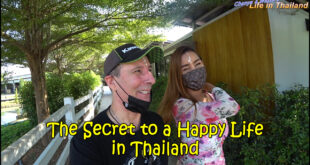 The Secret to a Happy Life – in Thailand