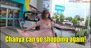 Chanya can go shopping again!